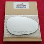 Mirror Glass + Full Adhesive for 12-18 Fiat 500-3