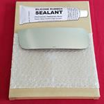 Mirror Glass Replacement + Silicone Adhesive for N
