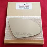Mirror Glass + ADHESIVE for 12-14 Toyota Yaris Pas