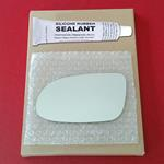 Mirror Glass Replacement + Silicone Adhesive for B