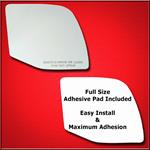 Mirror Glass Replacement + Full Adhesive for 92-07