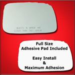 Mirror Glass Replacement + Full Adhesive for 04-09