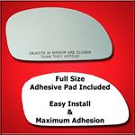 Mirror Glass Replacement + Full Adhesive for 96-00