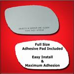 Mirror Glass Replacement + Full Adhesive for 98-05