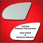 Mirror Glass Replacement + Full Adhesive for 89-97