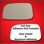 Mirror Glass Replacement + Full Adhesive for 04-06