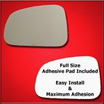Mirror Glass Replacement + Full Adhesive for 06-08