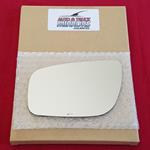 Mirror Glass + ADHESIVE for Jetta, Passat, Beetle