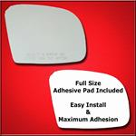 Mirror Glass Replacement + Full Adhesive for GL, M