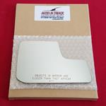 Mirror Glass + ADHESIVE for 11-14 Ford Edge Passen