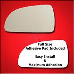 Mirror Glass Replacement + Full Adhesive for 06-10
