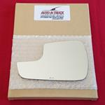 Mirror Glass + ADHESIVE for 13-18 Ford Fusion Driv