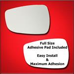 Mirror Glass Replacement + Full Adhesive for Accen