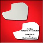 Mirror Glass Replacement + Full Adhesive for 17-18