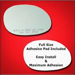 Mirror Glass Replacement + Full Adhesive for 04-10