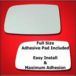 Mirror Glass Replacement + Full Adhesive for Mitsu