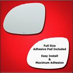 Mirror Glass + Full Adhesive for 09-17 Volkswagen