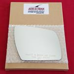 Mirror Glass + ADHESIVE for 12-13 Kia Soul Passeng