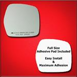 Mirror Glass Replacement + Full Adhesive for 98-01