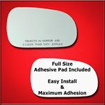 Mirror Glass Replacement + Full Adhesive for Integ