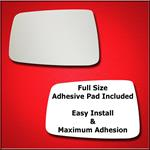 Mirror Glass Replacement + Full Adhesive for 11-18