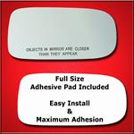 Mirror Glass Replacement + Full Adhesive for XK8 X