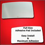 Mirror Glass Replacement + Full Adhesive for F-250