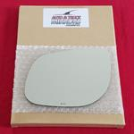 Mirror Glass + Adhesive for 10-10 Kia Forte Driver