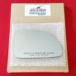 Mirror Glass + ADHESIVE for 03-05 Kia Rio Passenge