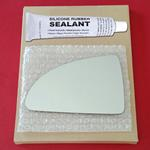 Mirror Glass Replacement + Silicone Adhesive for C