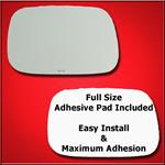 Mirror Glass Replacement + Full Adhesive for 05-10