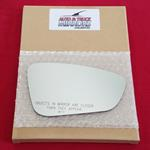 Mirror Glass + ADHESIVE for 15-17 Chrysler 200 Pas