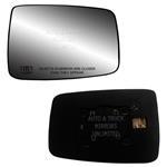 Fits 09-16 Dodge 1500 Passenger Side Mirror Glass