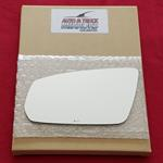 Mirror Glass + Adhesive for 10-10 Ford Mustang Dri