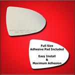 Mirror Glass Replacement + Full Adhesive for 11-16