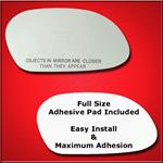 Mirror Glass Replacement + Full Adhesive for Sable