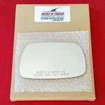 Mirror Glass + ADHESIVE for 01-03 Toyota Prius Pas
