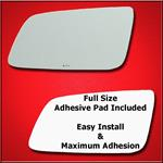 Mirror Glass Replacement + Full Adhesive for Capri