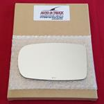 Mirror Glass + ADHESIVE for 11-17 Chrysler 300 Dri