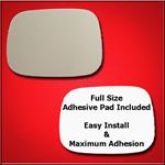 Mirror Glass Replacement + Full Adhesive for 07-10