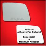 Mirror Glass Replacement + Full Adhesive for 2010