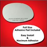 Mirror Glass Replacement + Full Adhesive for 01-03