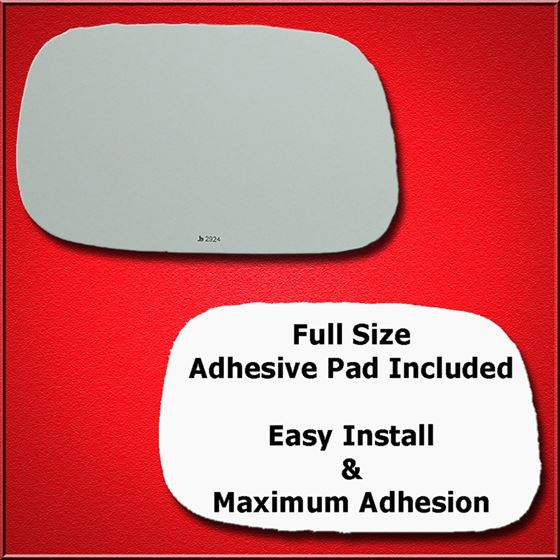 Mirror Glass Replacement + Full Adhesive for GS, L