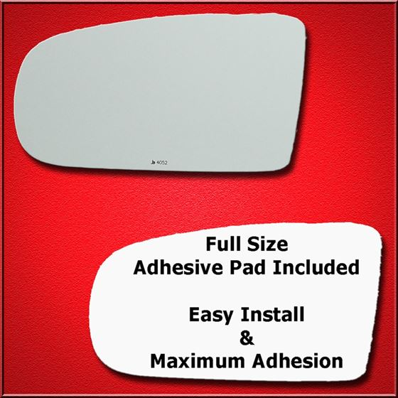 Mirror Glass Replacement + Full Adhesive for 1997-