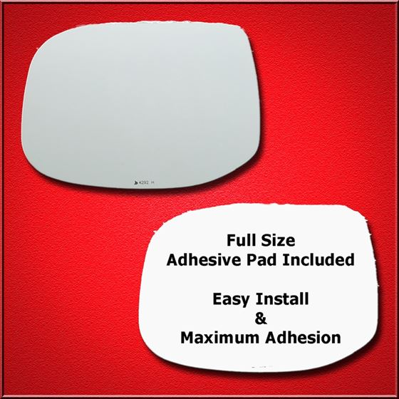 Mirror Glass + Full Adhesive for 09-14 Acura TSX D
