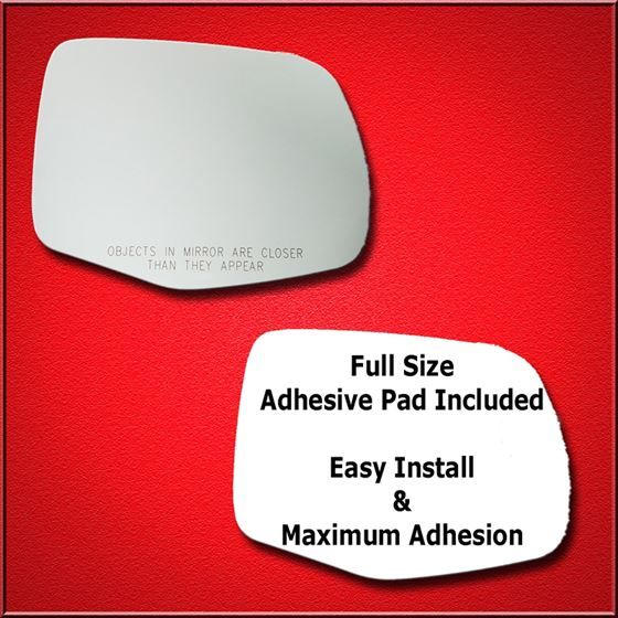 Mirror Glass Replacement + Full Adhesive for Pilot