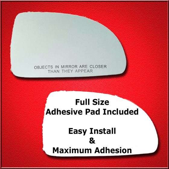 Mirror Glass Replacement + Full Adhesive for 03-05