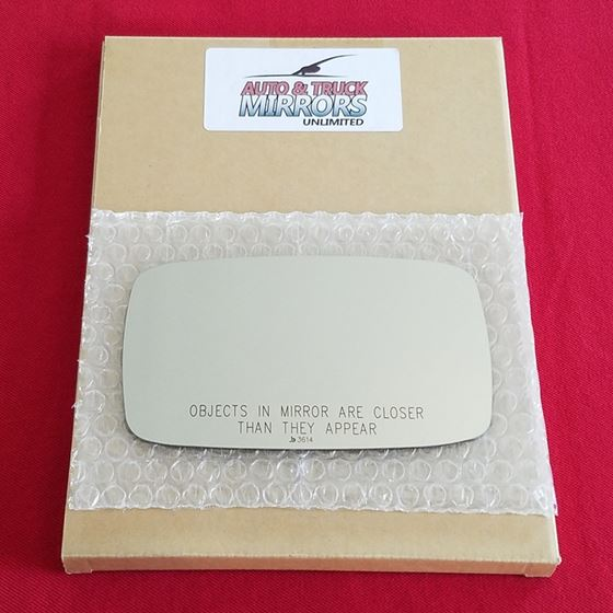 Mirror Glass + Adhesive for 87-91 Porsche 928 Pass