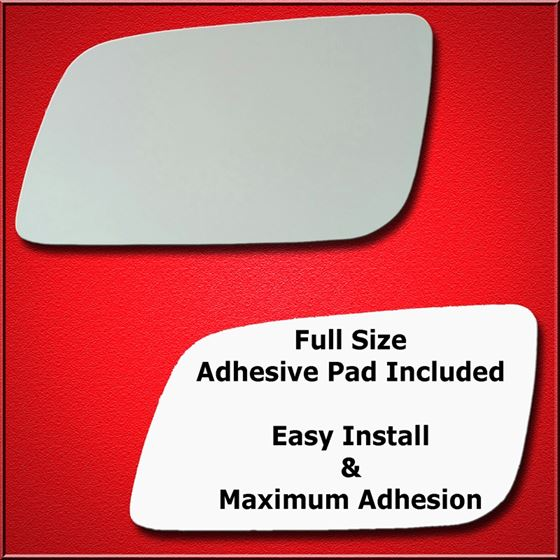 Mirror Glass Replacement + Full Adhesive for 99-05