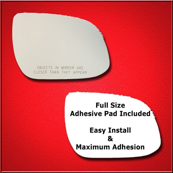 Mirror Glass Replacement + Full Adhesive for 10-11